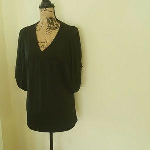 LIKE NEW Anne Klein Puffed Long Sleeve Blouse